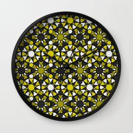Al-Nasir - Yellow and Grey Wall Clock
