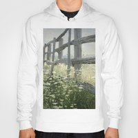 rustic Hoodies featuring Rustic Fence by Pure Nature Photos