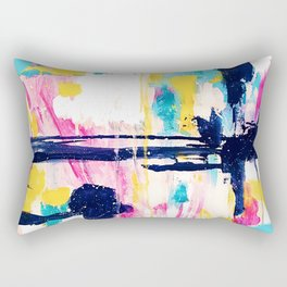 Abstract Colorful Painting Rectangular Pillow