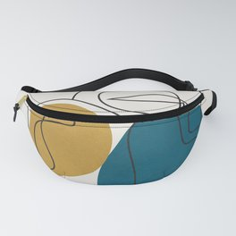 Abstract Faces 26 Fanny Pack