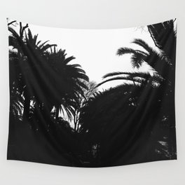 Palm silhouettes in Granada, Spain - Trbel photography Wall Tapestry