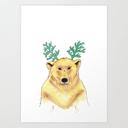 Ours Art Print