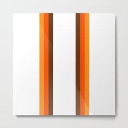 Harvest Rainbow - Straight Metal Print