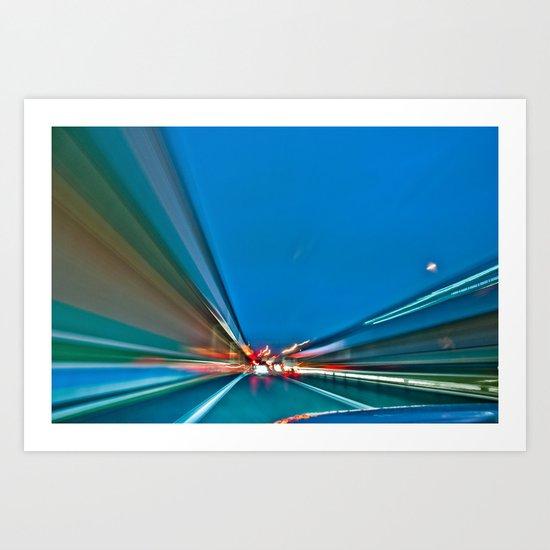 City Lights III Art Print
