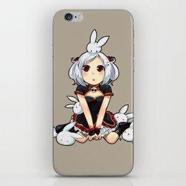 Li Mei and the bunnies iPhone Skin