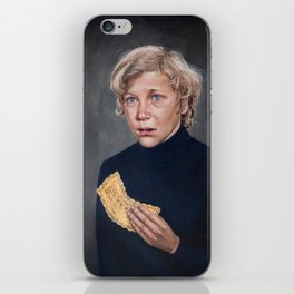 Charlie Bucket - Golden Ticket Willy Wonka Painting iPhone Skin