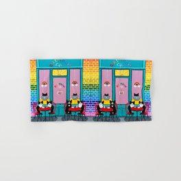 The Rainbow Cafe Hand & Bath Towel
