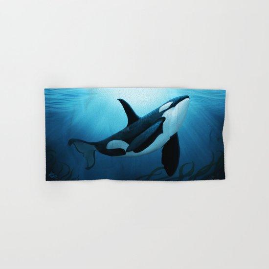 The Dreamer  ~ Orca ~ Killer Whale Hand & Bath Towel