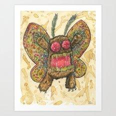 Mothy the Mothman Art Print