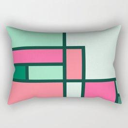 Bauhaus Abstract Pattern 02 Rectangular Pillow