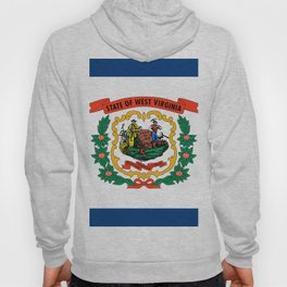West Virginia Flag Hoody