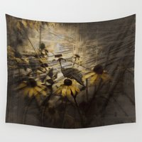 cross Wall Tapestries featuring Cross Roads by Victoria Herrera