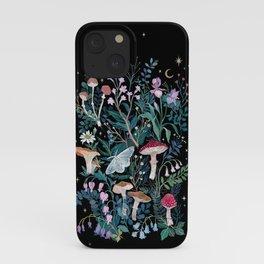 Night Mushrooms iPhone Case