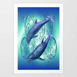 Harmony .. fantasy Art Print