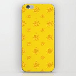 Sun Pattern iPhone Skin