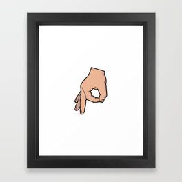 The Circle Game Framed Art Print