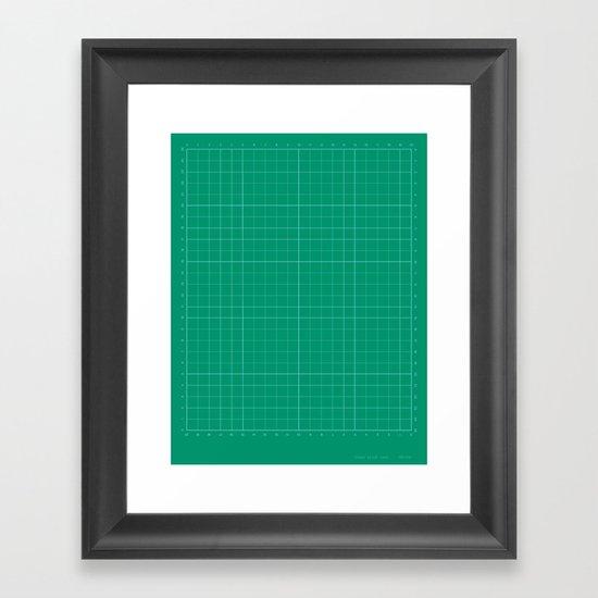 ideas start here 006 Framed Art Print