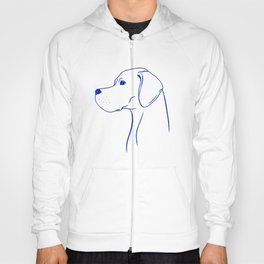 English Pointer (Light Blue and Blue) Hoody