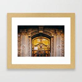Eixample - Barcelona, Spain - #42 Framed Art Print