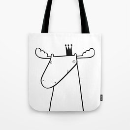 Scandinavian moose Tote Bag