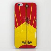 soviet iPhone & iPod Skins featuring Soviet+Electricity (Idol#1) by canefantasma