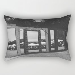 jagged reflections Rectangular Pillow