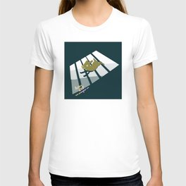 Crossing With A Dog T-shirt
