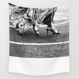 Fast as you can Wall Tapestry