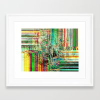whatever Framed Art Prints featuring  Whatever  by RokinRonda
