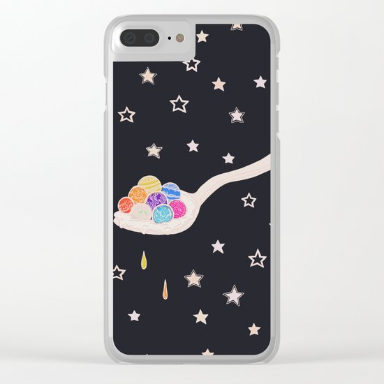 Spoonful Of Wonders Clear iPhone Case
