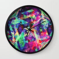 carnival Wall Clocks featuring Carnival by Truly Juel