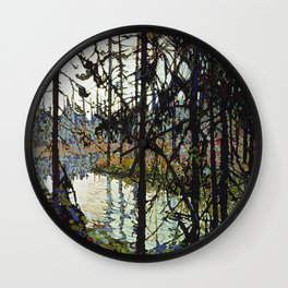 Tom Thomson - Northern River Wall Clock