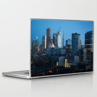 toronto Laptop & iPad Skins featuring Toronto by Michael Linnik