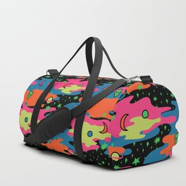 Psychedelic Space Duffle Bag