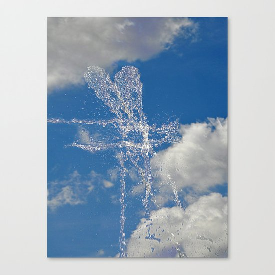 Sky - Water Canvas Print