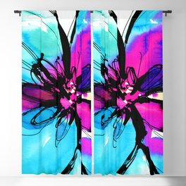 Ecstasy Bloom No.17 by Kathy Morton Stanion Blackout Curtain