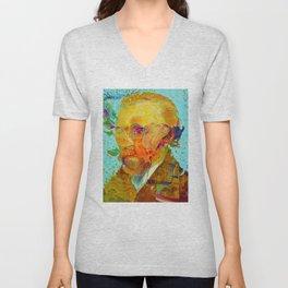 Xanthopsia - Homage to Vincent Van Gogh Unisex V-Neck