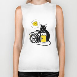 Say Cheese! Biker Tank