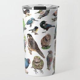 Native NZ Birds Travel Mug