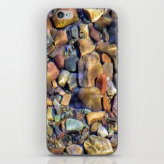 Ripples on the Pebbles iPhone & iPod Skin