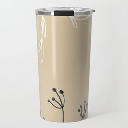 Wreathe & Flowers Travel Mug
