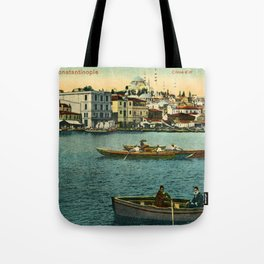 Vintage Golden Horn Constantinople ca 1900  Tote Bag