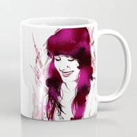 amy sia Mugs featuring Amy by Abbi Laura
