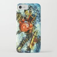 bioshock iPhone & iPod Cases featuring Bioshock Big Sister by Joe Misrasi