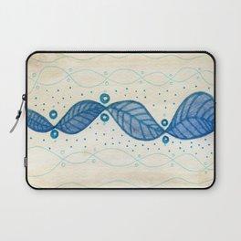 Blue Flow Laptop Sleeve