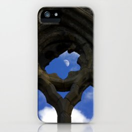 Penned in like a moon between arches iPhone Case