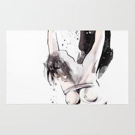 Shibari - Japanese BDSM Art Painting #15 Rug