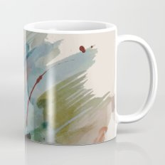 Begin again [2]: an abstract mixed media piece in a variety of colors Mug