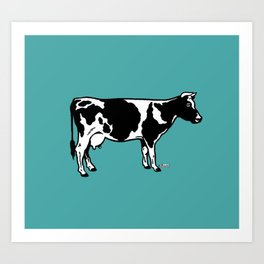 Let's Hear It for Cows! Art Print