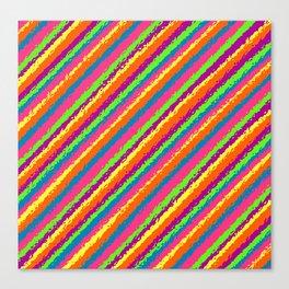 Crazy Colorz Canvas Print